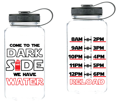 Dark Side Water Tracker  | Star Wars SVG DXF EPS PNG Cut File | Cricut and Silhouette Machines