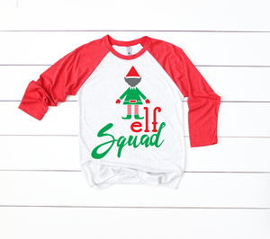 Elf Squad | Christmas SVG DXF EPS PNG Cut File | Cricut and Silhouette Machines