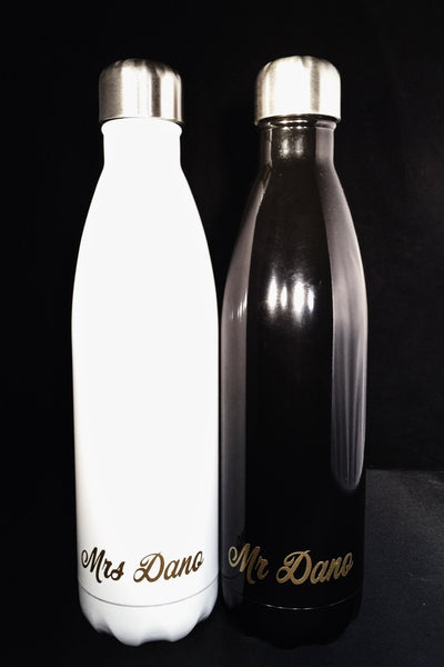 Wedding S'well Bottles for Groom and Bride - Wedding, Christmas, Anniversary, Valentine's Day, Christmas, Bridesmaids , Custom Swell Bottle