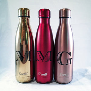 Personalized S'well Bottle - Initial Swell Bottle