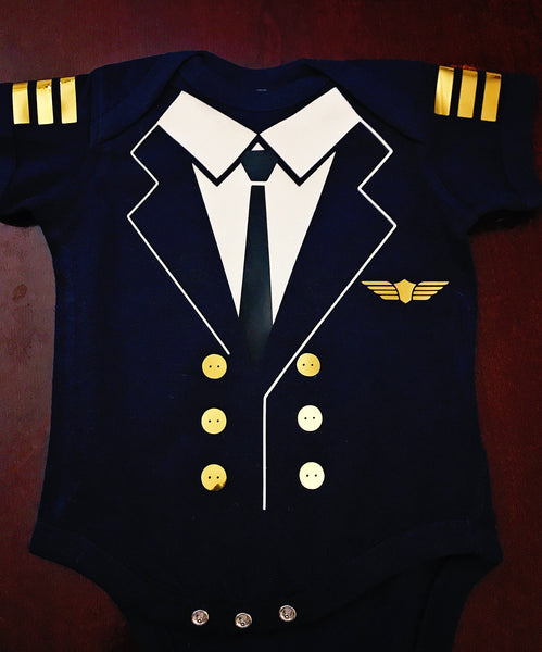 Pilot Onesie | Halloween Costumes | Baby Clothes