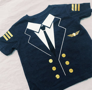 Pilot Shirt | Halloween Costumes | Toddler Clothes