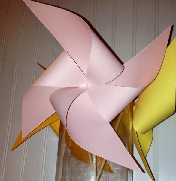 Custom Solid Colored Pinwheels