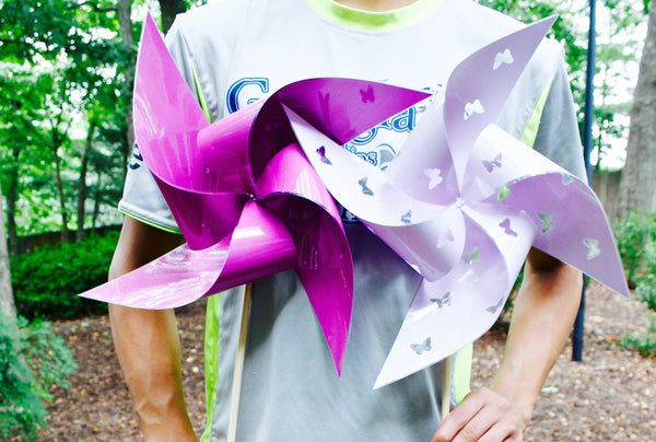 "Waterproof Extra Large 17"" Pinwheels"