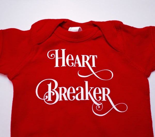 Heartbreaker Onesie | Holiday Costume | Baby Clothes