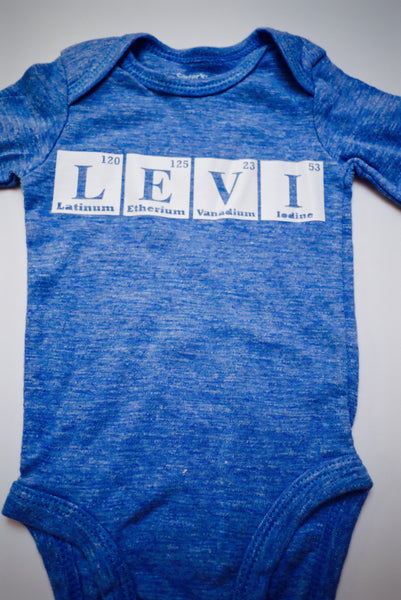 Element Onesie | Nerd Onesie | Baby Clothes