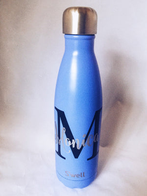 Monogram S'well Bottle - Big Initial and Name