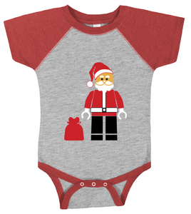 Lego Santa | Christmas SVG DXF EPS PNG Cut File | Cricut and Silhouette Machines