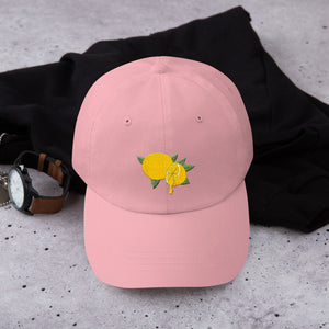 Lemon Drip Classic Relaxed Buckle Cap