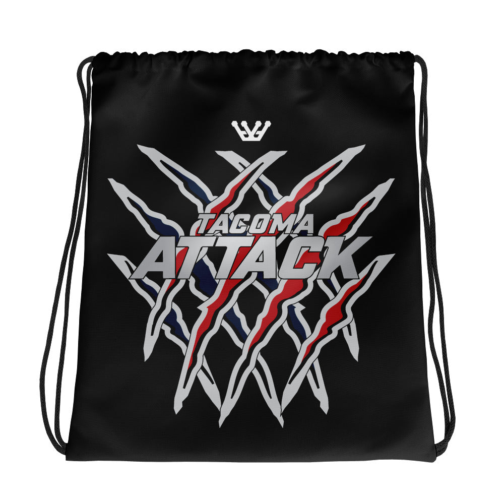 Tacoma Attack Drawstring bag