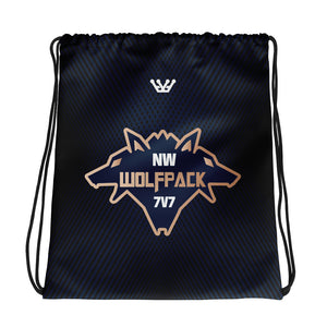 NW Wolfpack Drawstring bag