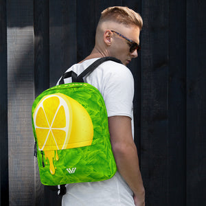 Lemon Drip Backpack