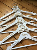 Personalised Bridal Coat Hanger
