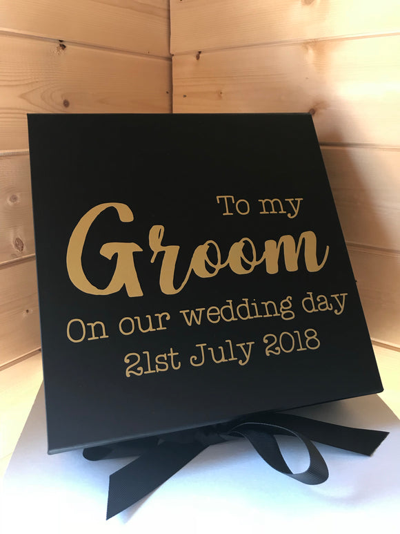 Personalised Gift Box (Black)