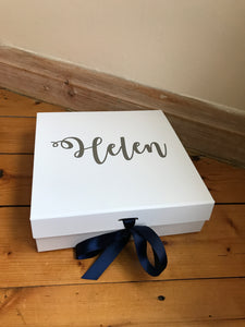 Personalised Gift Box (White)