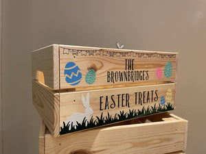 Personalised Easter Crate / Box