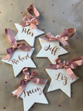 Personalised Ceramic Star