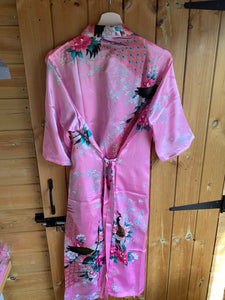 SALE! Patterned Pink Gown