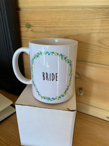 SALE! Bride Mug (blue)