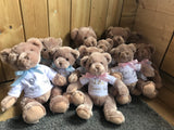 Personalised Brown Teddy Bear