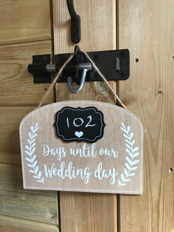 SALE! Wedding Countdown