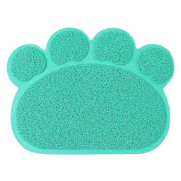 pet cat dog bowl mat
