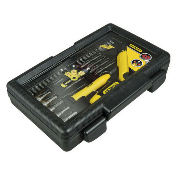 Pistol Grip Screwdriver Set 2 - 38 Piece