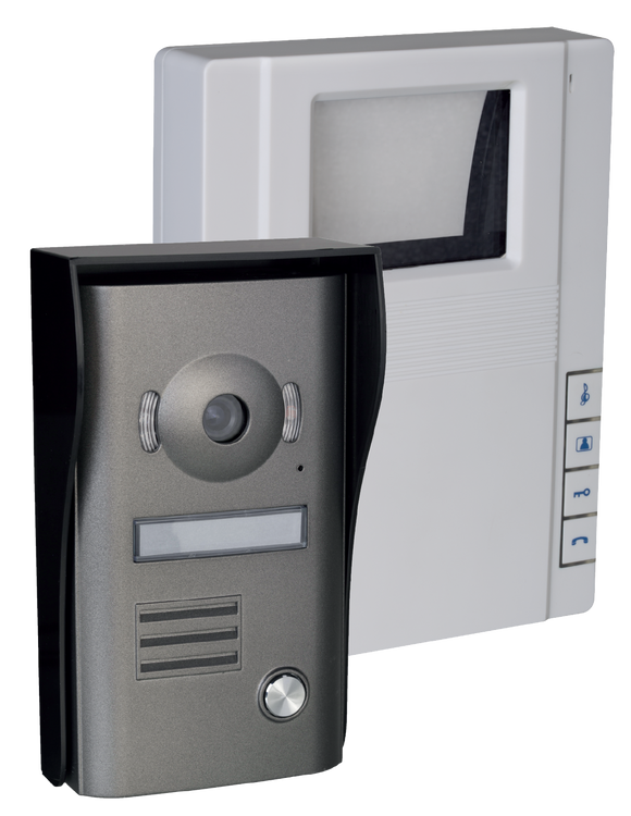 Black and White Video Doorphone