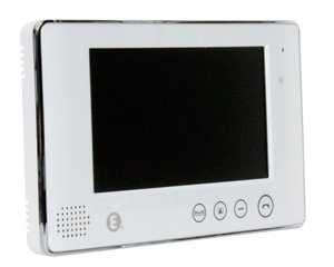 "Video Indoor Monitor 7"" White"