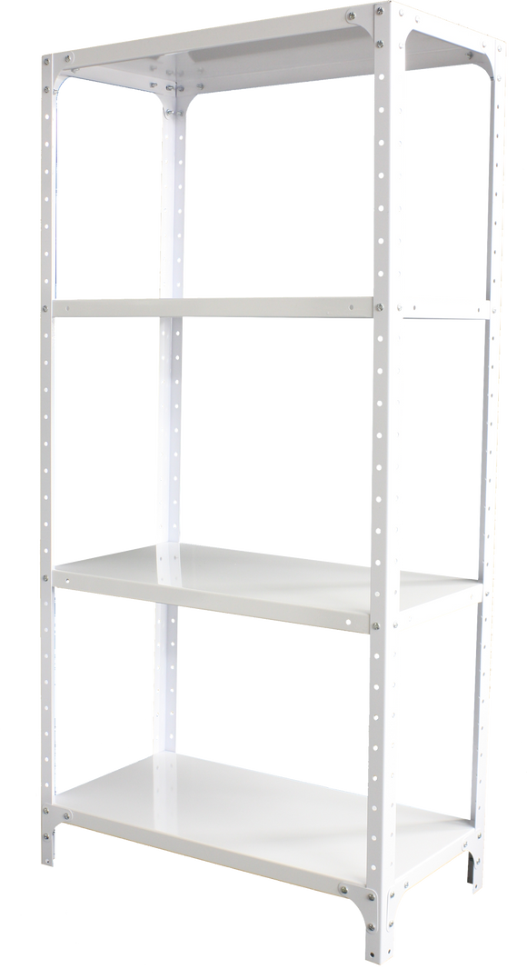 DIY Storage Shelf - 1.5M Shelving White