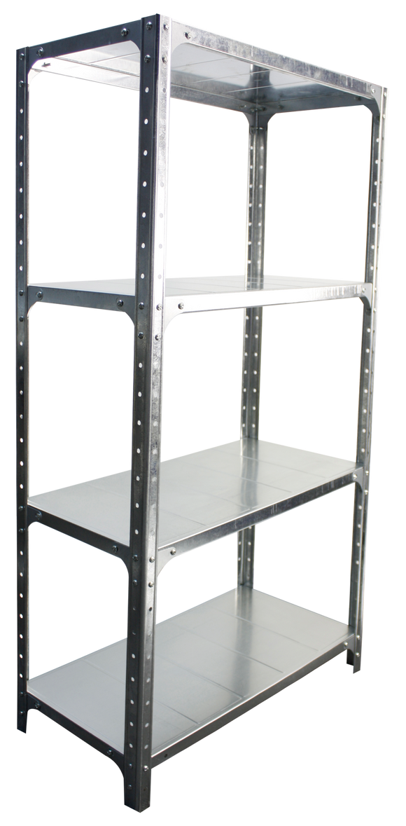 DIY Storage Shelf - 1.5M Shelving Galvanized