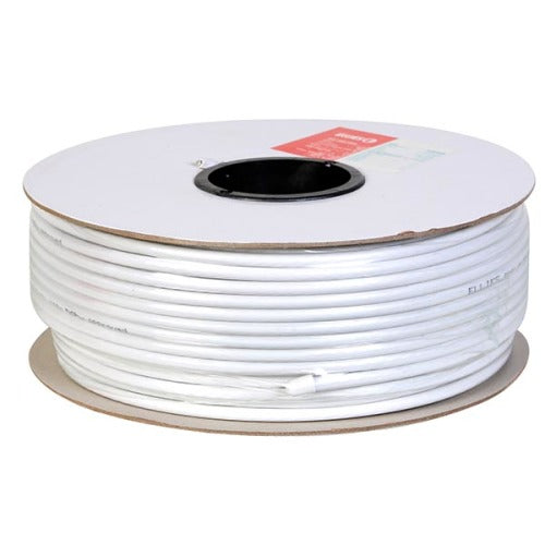 Ellies RG6U Coax Cable - White