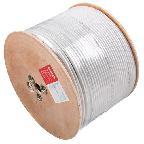 Ellies RG6U Coax Cable - White 500M