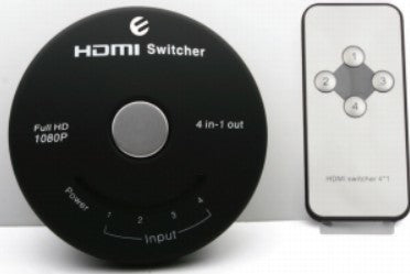 Smart Design, HDMI Switches 4 In 1 Out