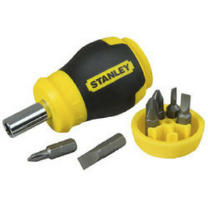 Stanley® Stubby Multibit Screwdriver - 7 Piece