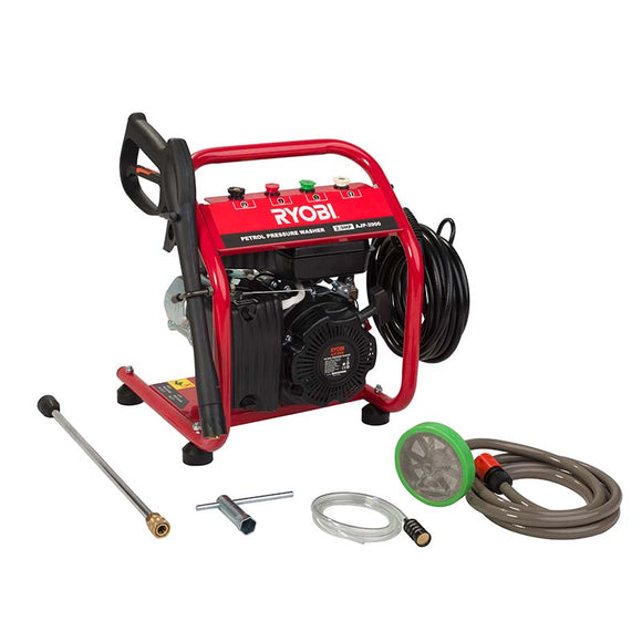 High Pressure Washer Petrol 2.9Hp