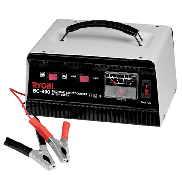 RYOBI Electronic Battery Charger 8AMP BC-800