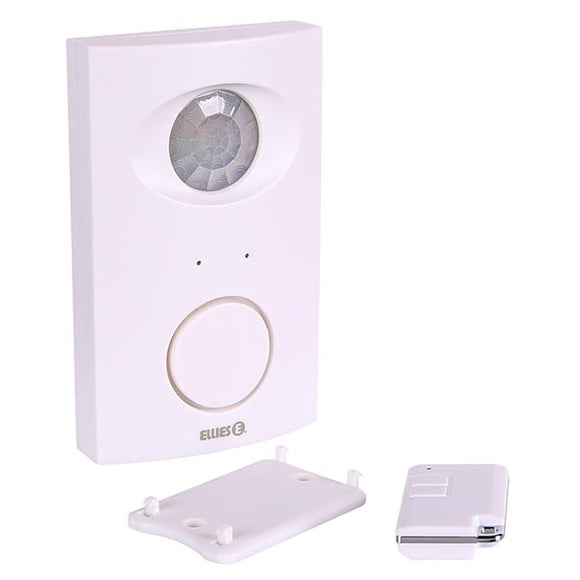 Wireless Motion Sensor Alarm With Remote Control