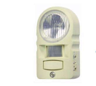 Motion Sensor Light and Alarm with Remote Control