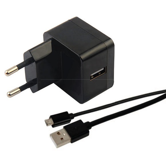 Charging Kit Micro USB Cable + 2.4A Wall Charger Smart IC