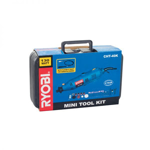 RYOBI Mini Tool Kit 130W with 42 PCE Accessory and Flexible Shaft CHT-40K
