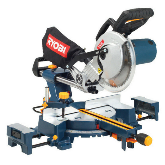 RYOBI SLIDING COMPOUND MITRE SAW 210MM CSS-210