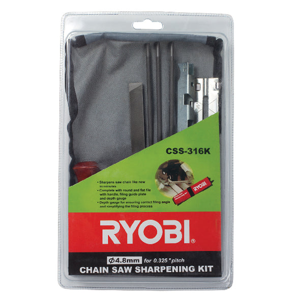 Chain Saw Sharpening Kit 3/16
