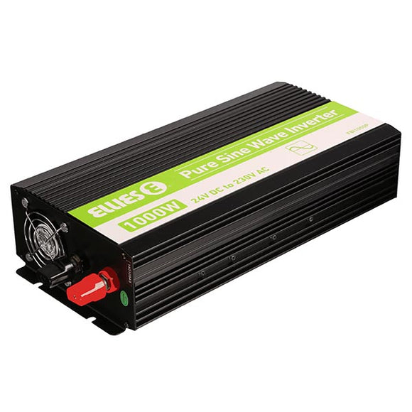 1000W Pure Sine Wave Inverter 24V DC to 230V AC