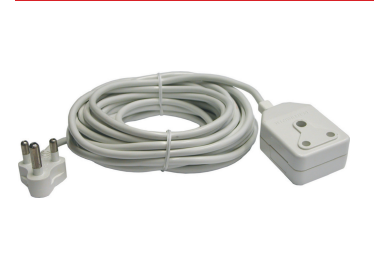 10M Extension Cable with Double 3 Pin Coupler