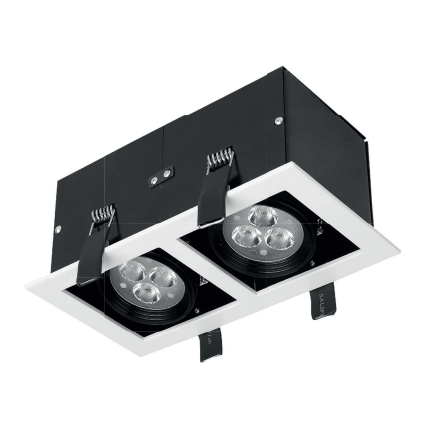 12W LED Recessed Downlight 5000K - Daylight