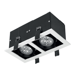 12W LED Recessed Downlight 3000K - Warm White