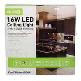 16W LED Ceiling Light with 2 Stage Dimming