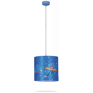 Kids Space Monkey Ceiling Lamp
