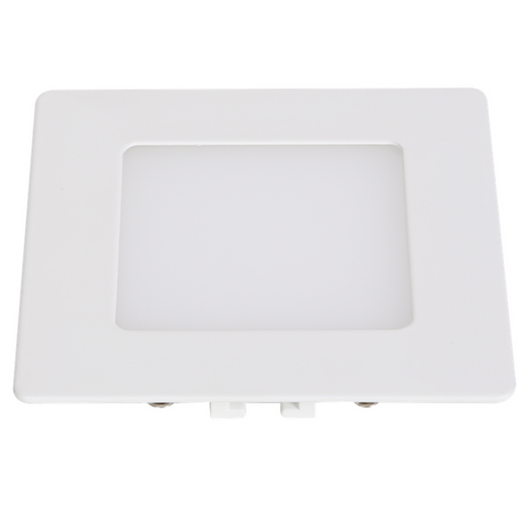 6W LED Slim Line Square Downlight - Warm White 3100K